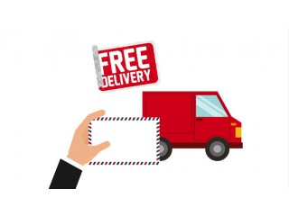 Free delivery anywhere in the world for all orders on our website!