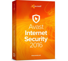 License AVAST Internet Security 2016 -1 YEAR / 1 PC