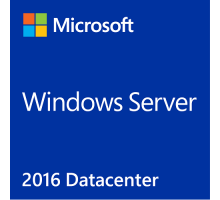 License+Sticker(photo) Windows Server 2016 Datacenter