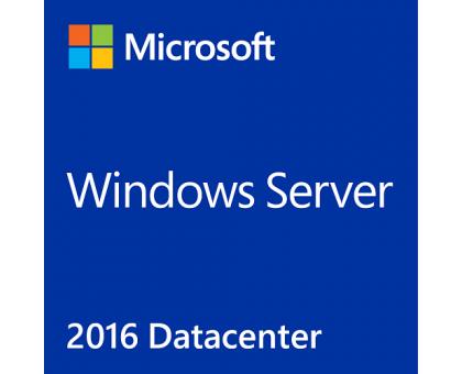 License+Sticker(photo) Windows Server 2016 Datacenter