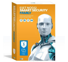 License ESET NOD32 Smart Security Family