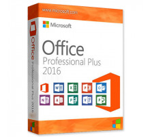 Ключ Microsoft Office 2016 Professional Plus(профессиональный плюс)