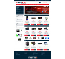 BLURRED - Universal adaptive template for Opencart 3