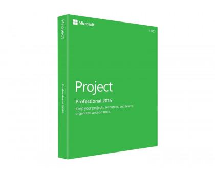Ключ Microsoft Project Professional 2016